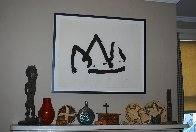 Black Mountain (State I) 1980 Limited Edition Print by Robert Motherwell - 2