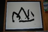 Black Mountain (State I) 1980 Limited Edition Print by Robert Motherwell - 8