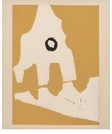 Ten Works by Ten Painters: Untitled, from X + X 1964 Limited Edition Print by Robert Motherwell - 1