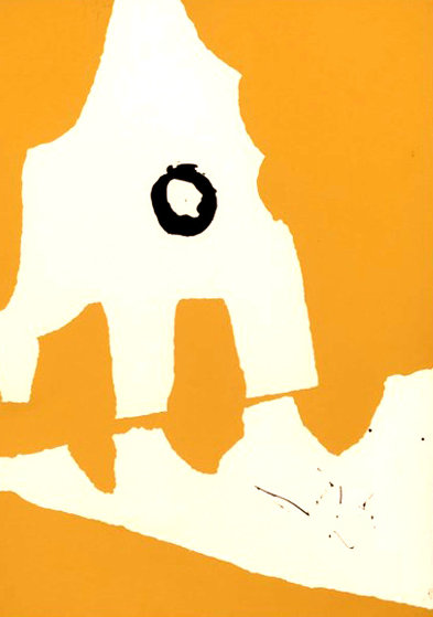 Ten Works by Ten Painters: Untitled, from X + X 1964 Limited Edition Print by Robert Motherwell