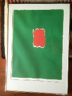 Spoleto Festival, Italy 1968 HS Limited Edition Print by Robert Motherwell - 2