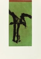 Primal Signs IV (Variant) 1980 Limited Edition Print by Robert Motherwell - 1