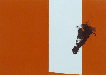 Autumn, From Paris Suite III 1979-80 Limited Edition Print - Robert Motherwell