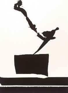 From Africa Suite #7 1980 Limited Edition Print - Robert Motherwell