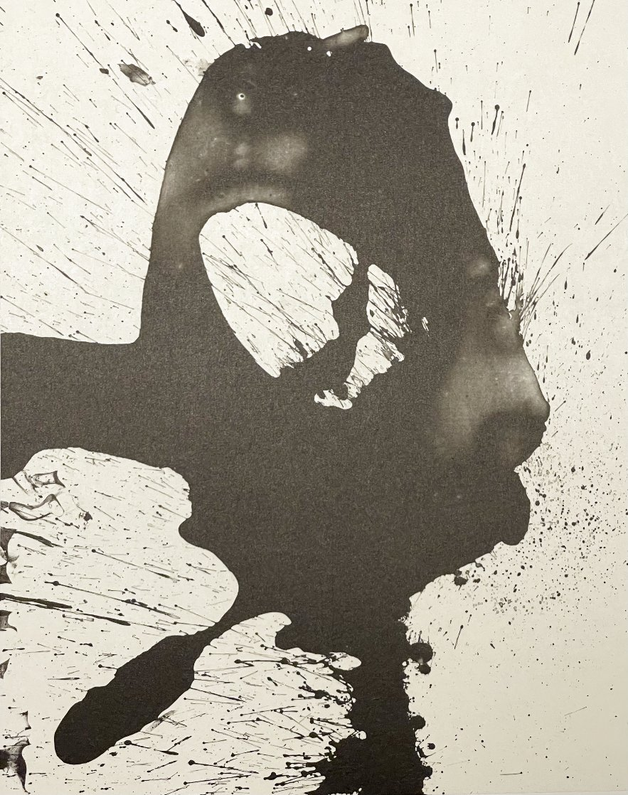 Three Poems: Untitled 1987 Limited Edition Print by Robert Motherwell