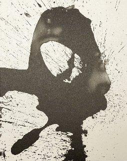 Three Poems: Untitled 1987 Limited Edition Print - Robert Motherwell