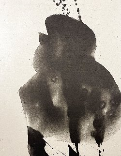 Three Poems: Untitled Lithograph 1987 Limited Edition Print - Robert Motherwell