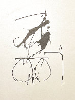 Three Poems: Untitled Lithograph  1987 Limited Edition Print by Robert Motherwell - 1