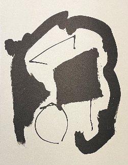 Untitled (Three Poems II) 1987 Limited Edition Print - Robert Motherwell
