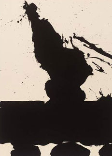 Africa Suite: Africa 2 1970 Limited Edition Print - Robert Motherwell