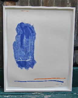 Lines for St. Gallen 1971 Limited Edition Print - Robert Motherwell