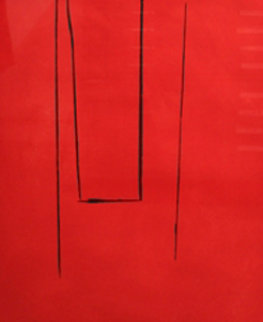 Untitled (Trapeze Open) 1972 Limited Edition Print by Robert Motherwell