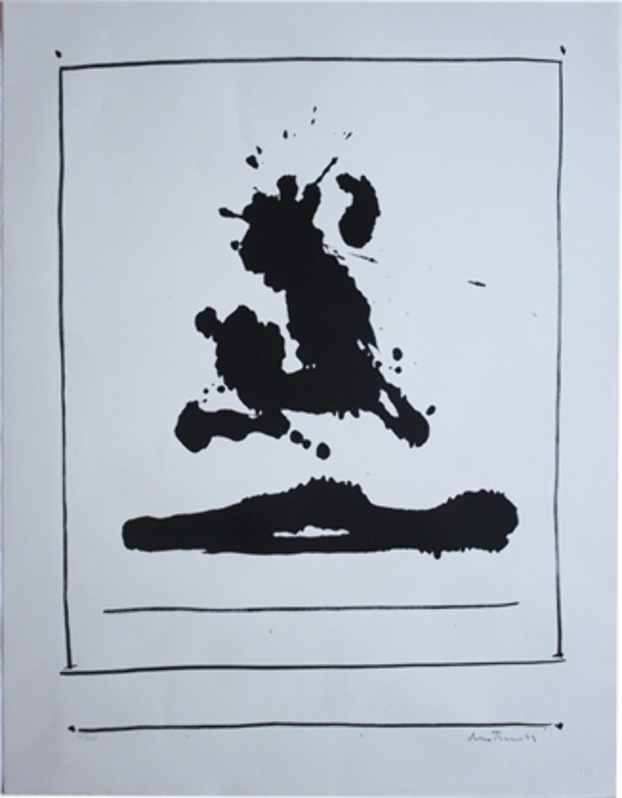 Untitled (Beside the Sea, From New York International Portfolio) 1966 Limited Edition Print by Robert Motherwell