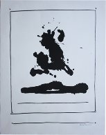 Untitled (Beside the Sea, From New York International Portfolio) 1966 Limited Edition Print by Robert Motherwell - 0