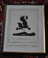 Untitled (Beside the Sea, From New York International Portfolio) 1966 Limited Edition Print by Robert Motherwell - 1