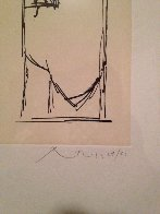 Espana II (Spanish Elegy Fragment) 1983 Limited Edition Print by Robert Motherwell - 3