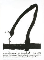 Roots of Abstract Art in America 1965 HS Limited Edition Print by Robert Motherwell - 0
