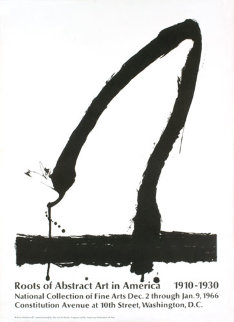 Roots of Abstract Art in America 1965 HS Limited Edition Print - Robert Motherwell