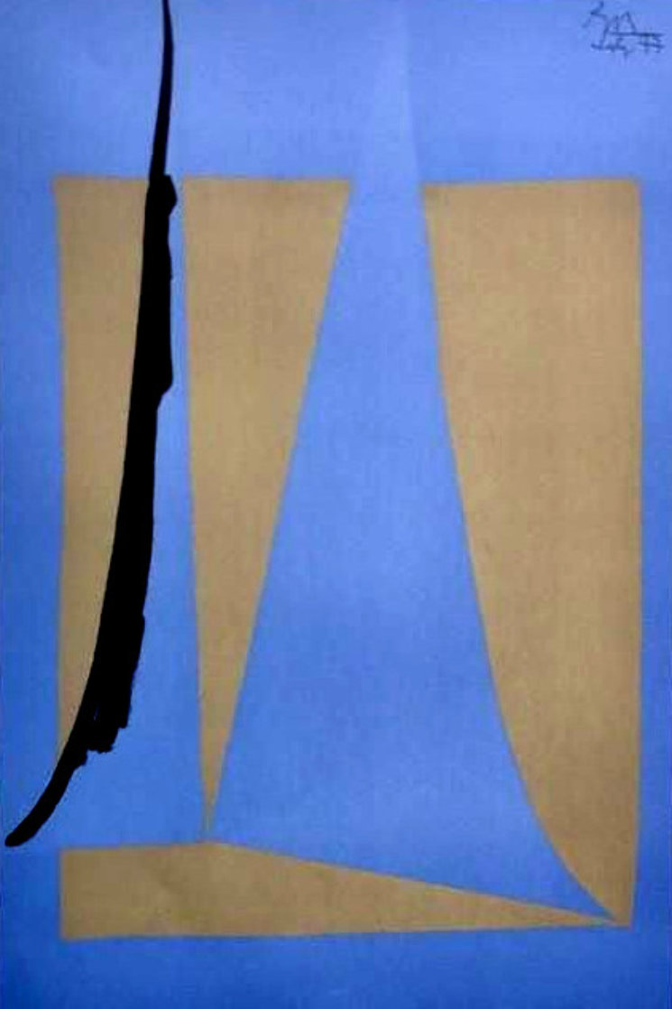Newport Opera 1979 Limited Edition Print by Robert Motherwell