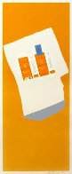 Harvest With Blue Bottom (Summer Light Series) 1973 Limited Edition Print by Robert Motherwell - 0