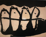 Wanderers AP 1985 Limited Edition Print by Robert Motherwell - 0