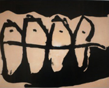 Wanderers AP 1985 Limited Edition Print by Robert Motherwell