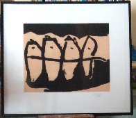 Wanderers AP 1985 Limited Edition Print by Robert Motherwell - 1