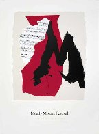Mostly Mozart Festival 1991 Limited Edition Print by Robert Motherwell - 1