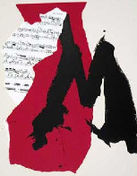Mostly Mozart Festival 1991 Limited Edition Print by Robert Motherwell - 0