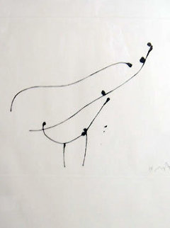 Bird 1 1973 Limited Edition Print - Robert Motherwell