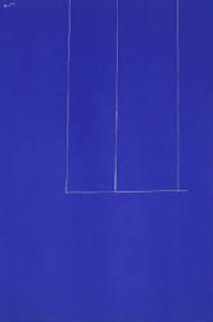 London Series Blue Limited Edition Print by Robert Motherwell