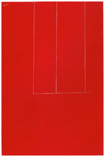 London Series I: Untitled (Red) AP 1971 Limited Edition Print - Robert Motherwell