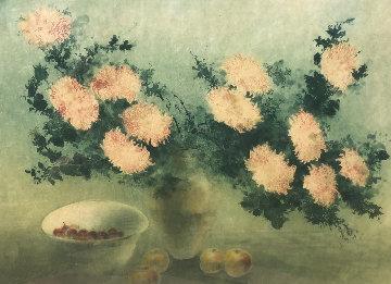 Chrysanthemums 1980 Limited Edition Print - Kaiko Moti