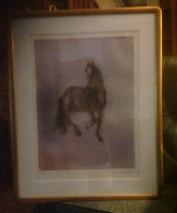 Cheval Dresse Limited Edition Print by Kaiko Moti - 1