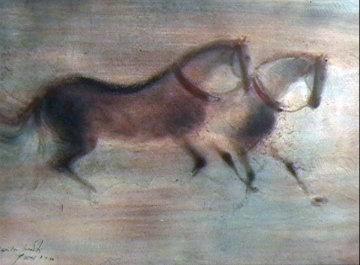 Paris Horses AP 1966 Limited Edition Print by Kaiko Moti