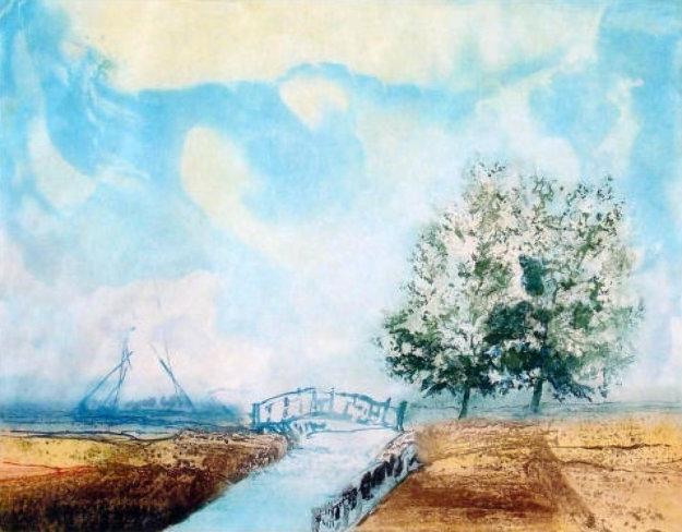 Small Bridge 1969 Limited Edition Print by Kaiko Moti