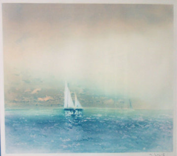 Morning Passage 1986 Limited Edition Print - Kaiko Moti