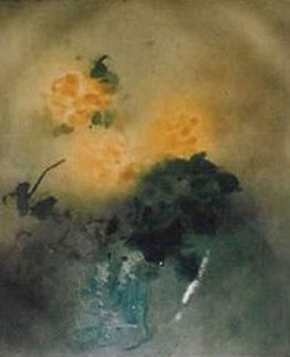 Roses Jaunes (Yellow Roses) Limited Edition Print - Kaiko Moti