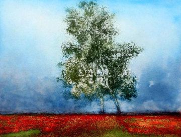 Champs De Lavande (Lavender Tree) Limited Edition Print - Kaiko Moti