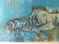 Coelacanthes AP Limited Edition Print by Kaiko Moti - 2