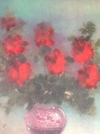 Fleurs Rouges 1975 Limited Edition Print by Kaiko Moti - 3