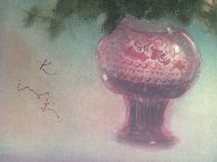Fleurs Rouges 1975 Limited Edition Print by Kaiko Moti - 4