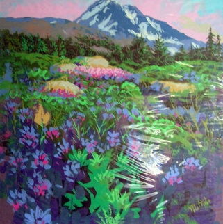 Mountain View 24x30 Original Painting - Fil Mottola