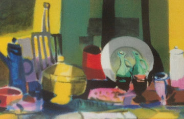 Untitled Lithograph 1999 Limited Edition Print by Marcel Mouly