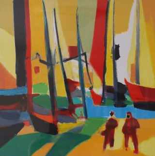 Le Port Brenton  Limited Edition Print - Marcel Mouly