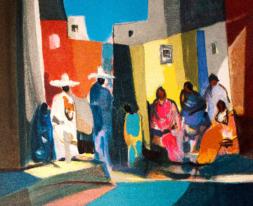 Mexicains Et Mexicaines Limited Edition Print - Marcel Mouly