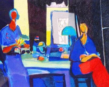 La Lampe Verte 2004 Limited Edition Print - Marcel Mouly