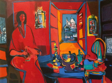 l'Interieur Venitien I Limited Edition Print by Marcel Mouly