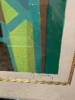 Compotier Blanc a Tableau Noir Limited Edition Print by Marcel Mouly - 2