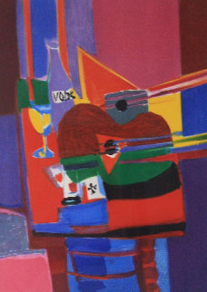 La Bouteille De Vodka Limited Edition Print - Marcel Mouly
